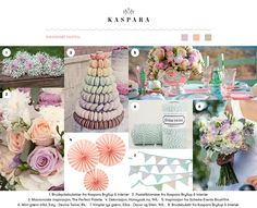 Sukkersøt pastell // Sweet pastel Inspiration Boards, Wedding Inspiration, Table Decorations, Sweet, Home Decor, Lily, Pastel, Candy, Decoration Home
