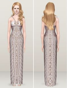 Image detail for -... Social Sims Finds tagged versace sims3 sims 3 fashion dress designer