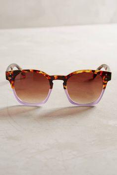 Slide View: 1: Dipped Tortoise Sunglasses