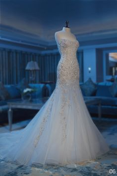 abed mahfouz ... Lovely wedding gown!