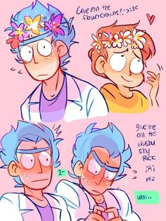 I can't imagine what would make rick blush, but i would love to see it. it would undoubtedly be epic.