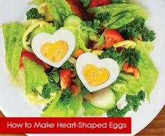 Heart-Shaped Eggs and other Food and Recipes for Valentine's Day