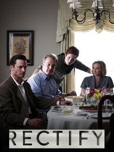 Rectify -  season 1 now on Netflix!  It's a must see. Great binge watch:) a Sundance original