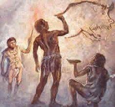 """80.Homo sapiens:Seguidamente aparece el Solutreano, entre los 22.000 y los 18.000 años. Este periodo se caracteriza por los cuchillos """"hoja de laurel"""", llamados así por su forma. Algunos de estos cuchillos son tan delgados y delicados que no es posible imaginar que hayan tenido un uso práctico."""