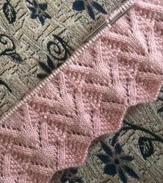 Discover thousands of images about Best Beautiful Easy Knitting Patterns Baby Knitting Patterns, Knitting Stiches, Easy Knitting, Stitch Patterns, Crochet Patterns, Crochet Stitches, Knitted Blankets, Knit Crochet, Free Pattern