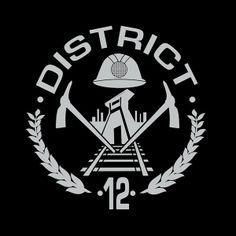 Camiseta The Hunger Games (Los juegos del hambre). Distrito 12