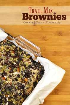 It's time to jazz up your brownies! This recipe is just the ticket! It resulted from a fun mix and match of goodies I had in the baking cabinet...and a fun homemade fudgy recipe from my friend! Check out the final result! Dinner Recipes, Dessert Recipes, Fall Recipes, Cheesecake Desserts, Holiday Baking, Brownie Recipes, Kid Friendly Meals, Baking Ingredients, Healthy Snacks