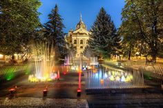 Singing Fountain in Kosice, Slovakia Beautiful World, Beautiful Places, Heart Of Europe, Church Building, Central Europe, Best Hotels, That Way, Places Ive Been, The Good Place