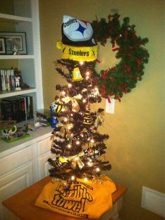 My steelers Christmas tree | Holidays | Pinterest | Trees ...