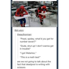 This is SO Deadpool ❤ liked on Polyvore featuring fandom, fangirl, memes and the avengers