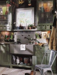 Ultimate Potting Shed...an article, by a kitchen designer, on how to design your garden or potting shed for efficiency and convenience.