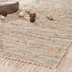 Goudkleurig Mira tapijt 140x200