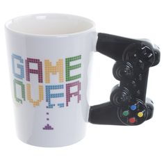 Buy Game Over Mug online from The ShopCircuit. Shop for unique and quirky gifts online from the shop circuit. Gifts for all occasions and all age groups. Drink and Play Product: Game Over coffee mug Games To Buy, Fun Games, Nintendo, Tea Gifts, Gifts Uk, Quirky Gifts, Shops, Matching Gifts, Game Controller