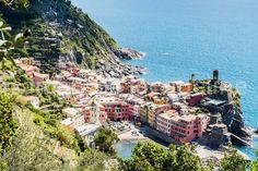 Vernazza in The Spring (Cinque Terre, Italy) Horizontal