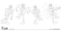 Brillo y brillo - Arte Producción (primera temporada) quería escribir esto en octubre, pero totalmente vacía, así que aquí tiene un Halloween tardía tratar!  :) Mi primera asignación cuando se trabaja en reflejo y un brillo era hacer turnos, un gráfico de la boca y las poses especiales ...