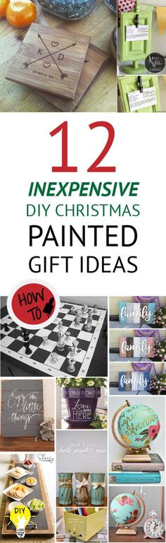 Painted Gift Ideas are more unique, personal, and significantly less expensive than anything you'll find on Black Friday.