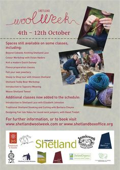 Shetland Wool Week - 4th to 12th October 2014