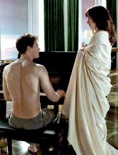 Christian Grey & Anastasia Steele - Fifty shades of Grey BTS (part1)