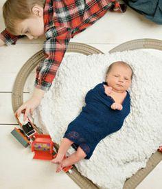 Sibling Photography Ideas>>Train Tracks