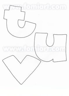 Coloring Books, Coloring Pages, Alphabet Stencils, Z Arts, Letter Templates, Letters And Numbers, Artsy Fartsy, Diy Gifts, Applique