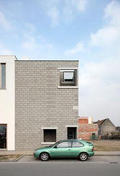 a f a s i a: architecten de vylder vinck taillieu 21st Century, Facade, House, Projects, Alternative, Home, Windows, Architecture, Contemporary Art