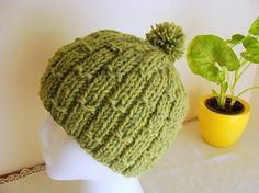 Knit Bamboo Hat