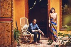 5 Beautiful Riads in Marrakech :: This Is Glamorous Riads In Marrakech, Medina Marrakech, Marrakesh, Cedar Door, Moroccan Furniture, Moroccan Art, World Of Books, Interior Garden