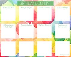 Make Your Birthday More Meaningful with the Birthday Blueprint!  I know you're busy but I hope you won't let another year go by without attending to that beautiful soul of yours!!!  Here are a few things I've learned about making birthdays meaningful as an adult...