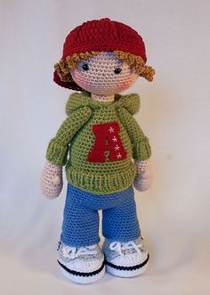 Ravelry: Doll JOSH pattern by CAROcreated design