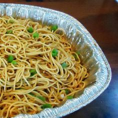 One Perfect Bite: Sesame Noodles for a Crowd, these are great with simply grilled meat of any kind!