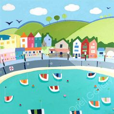 Barmouth Bunting by Janet Bell