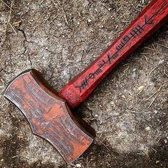 Made by master blacksmith Aaron Cergol
