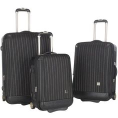 3Pc Oneonta Luggage Set in Black * This is an Amazon Affiliate link. Find out more about the great product at the image link.