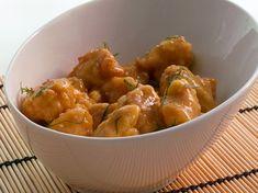 Pollo al limón al estilo oriental
