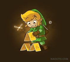 Triforce of cards by Naolito #LegendofZelda