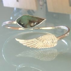 Turquoise Angel Wing Cuff Angel Wings, Angels, Turquoise, Engagement Rings, Jewellery, Enagement Rings, Wedding Rings, Jewels, Angel