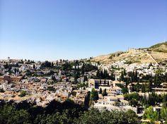 Granada vista dall'Alhambra