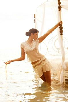 Honeymoon Dreaming: Something Seductive for Your Groom  | OneWed
