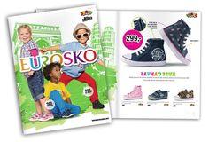 """Barnebrosjyre. Innstikk i """"Se & Hør"""" Se brosjyren her: http://issuu.com/eurosko/docs/kids_t05v12_02 Firma: Eurosko Norge"""