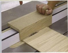 If you have a series of thin parts that need to be ripped this jig is the ticket. #woodworkingbench