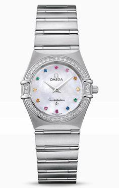 Reloj Omega mujer Constellation Iris '95 O14767900
