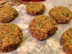 Quinoa Lentil Burgers