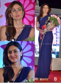 Kareena Kapoor's sari style | PINKVILLA