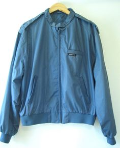 80's Blue Members Only Jacket  - i still have this in my closet haha