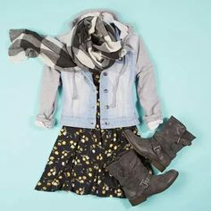 This is such a cute outfit from delia's