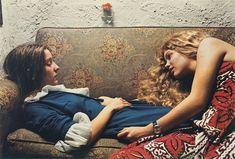 Sin título, 1974 (Karen Chatham, izq, con la prima del artista Lesa Aldridge, en Memphis, Tennessee)
