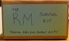 Return Missionary Survival Kits - to be sent to them before they come home!