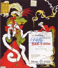 Antonio Rubino, 1906, cover for Dan-y-Don