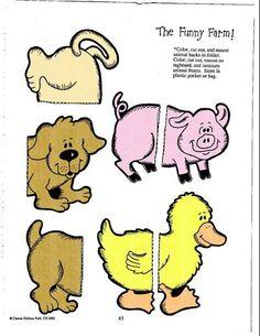 The funny farm file folder game 6/6