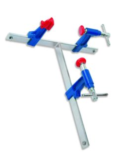 """Urko Edge-Grip Clamps On """"T"""" For Fastening every Corner"""